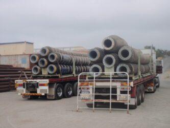 pipe trucks