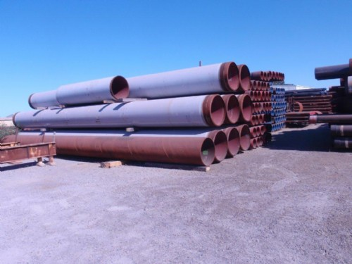 large pipes