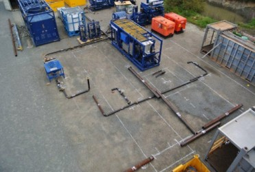 project simulation in shipping yard