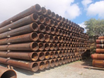 stacked pipes