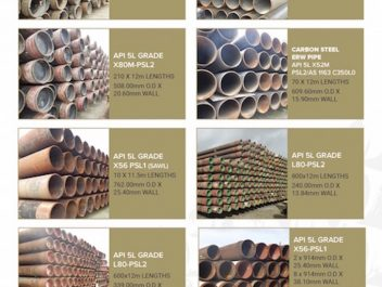 pipe stock brochure