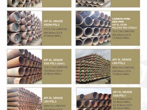 pipe stock brochure