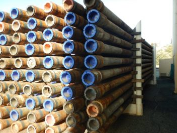 pipes stacked