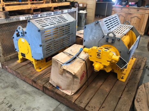 air winch motors